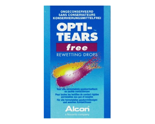 Opti Tears - free rewetting drops